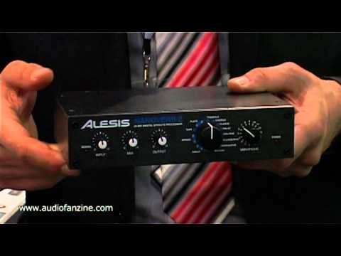 ALESIS NANOVERB 2 video demo [Musikmesse 2011]