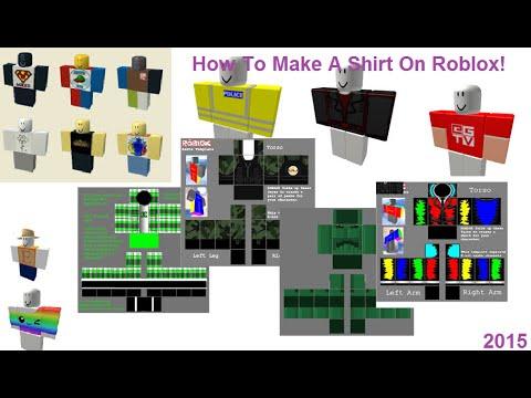 Как сделать свой скин для roblox