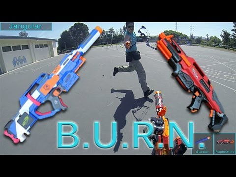 BURN Season 3 Round 1 (Rapidstrike / Strayven Footage)