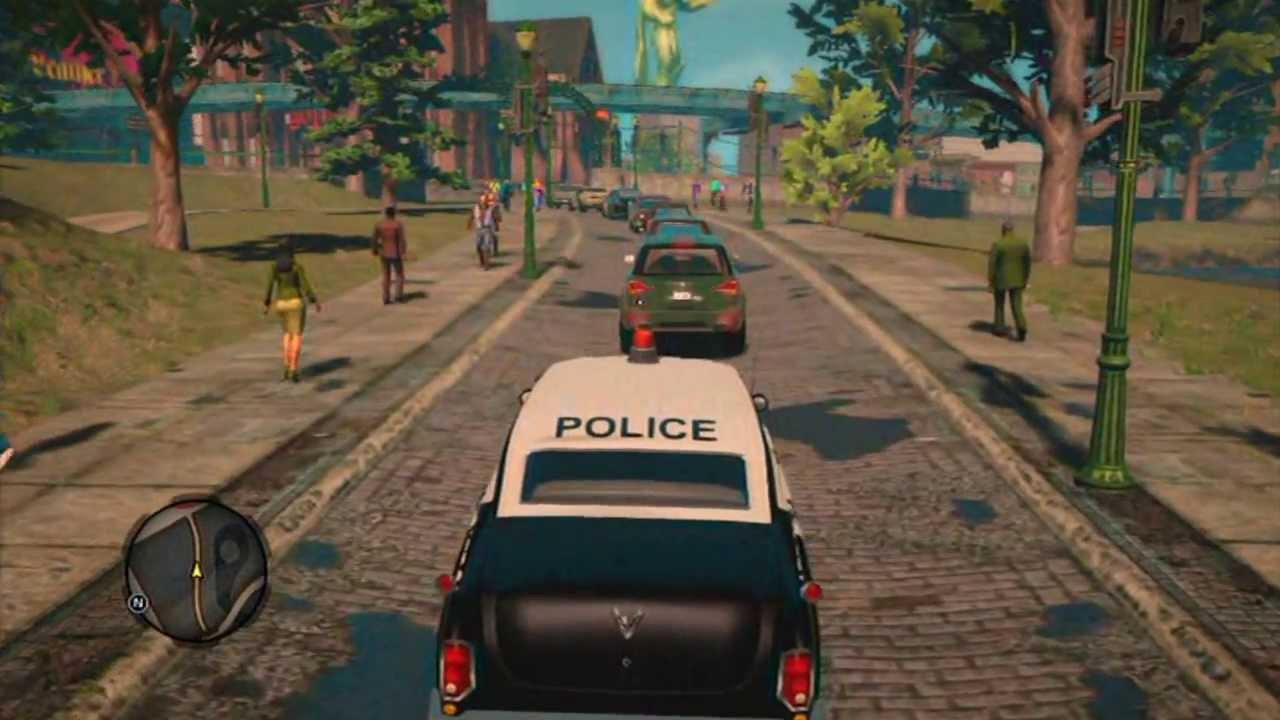 Saints Row  Swat Car