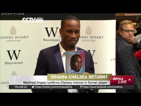 Montreal Impact confirms Chelsea interest in Drogba