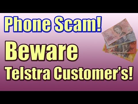 Telstra Bigpond Home Broadband Disconnection Phone Call Scam