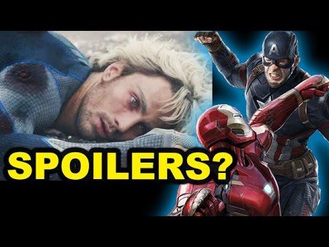 Captain America Civil War SPOILERS - Quicksilver, Baron Zemo - Beyond The Trailer