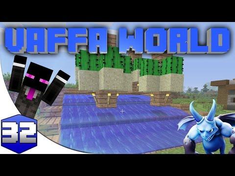 MINECRAFT : VAFFA WORLD - FARMING CACTUS #32