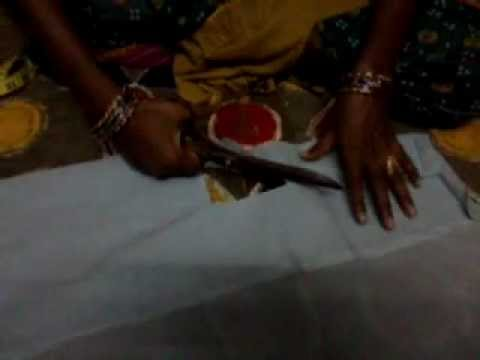 simple blouse cutting in new style