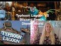 Blizzard Beach VS Typhoon Lagoon | Disney World
