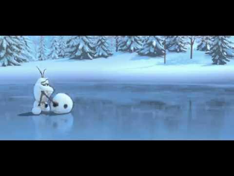 Olaf und das Rentier ( eiskönigen)