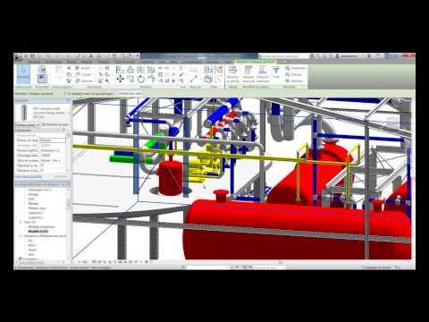 La structure pour les installations industrielles