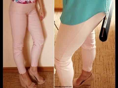 DIY | Jak Uszyć Spodnie Z Wysokim Stanem?