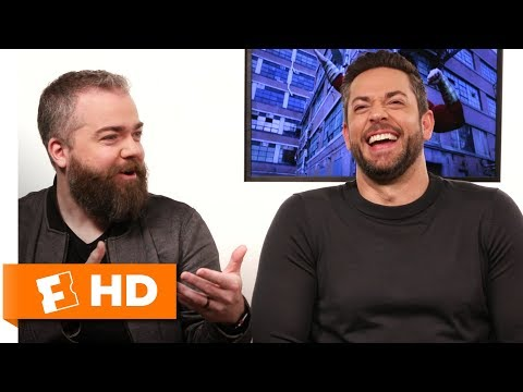Zachary Levi & David F. Sandberg Pick Their Own Superpowers | 'Shazam!' Interview | Fandango