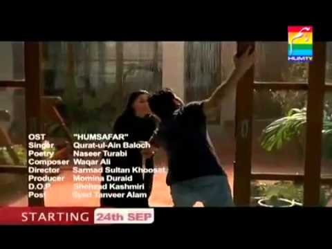 Humsafar OST Song HD - Hum Tv Quratul Ain Baloch.FLV
