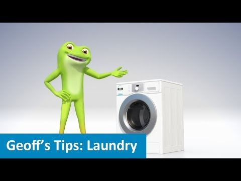 An efficient laundry really saves