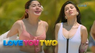 Love You Two: Patalbugan sa beach | Episode 13