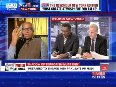 The Newshour Debate from New York: The Narendra Modi at UN analysis - Part 2 (27th September 2014)