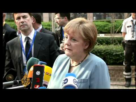 EU leaders discuss debt crisis