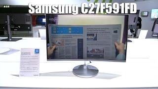 Samsung C27F591FD Curved Monitor | Allround-PC.com
