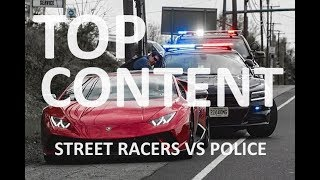 Street Racers VS Police Compilation / BEST OF THIS YEAR #4