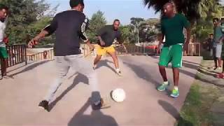 Friends and football - Having a good time in Ethiopia