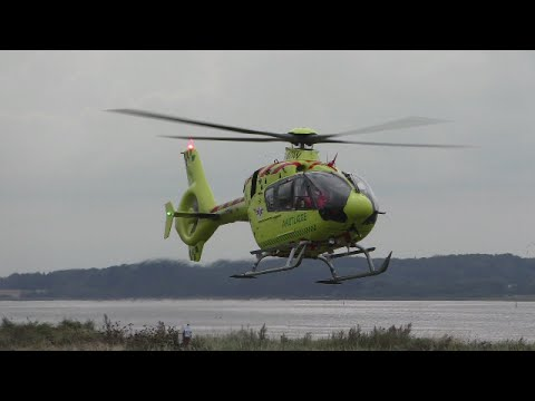 helicopter landing and take off