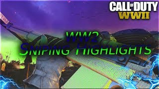 Call of Duty ww2 Sniping Highlights #3