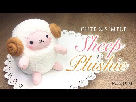 Easter Sheep Plush Tutorial - Húsvéti plüss bárány készítése