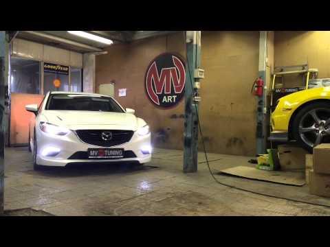 Bodykit for Mazda 6 by MV-TUNING