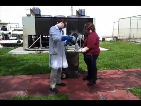 Barry University Chemistry - Liquid Nitrogen Bomb