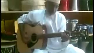 Elderly Moroccan Man Singing Bob Marley