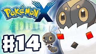 Pokemon X and Y - Gameplay Walkthrough Part 14 - Scatterbug Evolves into Spewpa (Nintendo 3DS)
