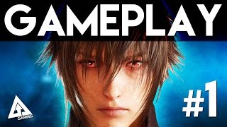 Final Fantasy 15 Gameplay Part 1 - Episode Duscae Demo