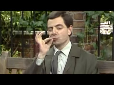 Mr Bean - Crushing pepper the Bean way Video