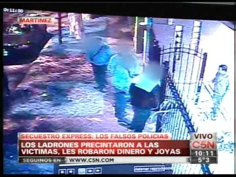 C5N - POLICIALES: SECUESTRO EXPRESS EN MARTINEZ (PARTE 4)