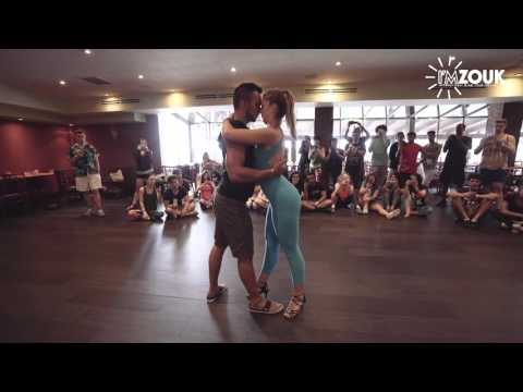 Layssa and Arthur - I'M Zouk 2016 - Miami - Masterclass Demo
