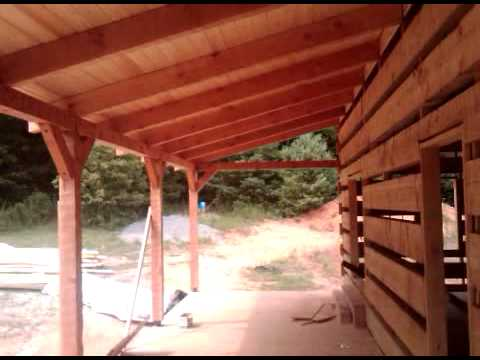 Front Porch Framing And Roof Deck Complete Youtube