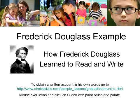 frederick douglass how i learned to read and write essay Source: review of narrative of the life of frederick douglass, an american slave, in critical essays on frederick douglass, edited by william l andrews, g k hall & co, 1991, pp 21-3 [fuller.