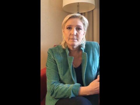 Marine Le Pen s'exprime sur les attentats de Bruxelles