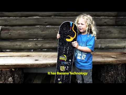 LIB TECH RIPPER - THE ULTIMATE FUN PROGRESSION STICK FOR KIDS!