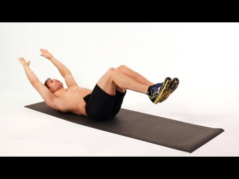 How to Do a Jack Knife | Home Ab Workout for Men