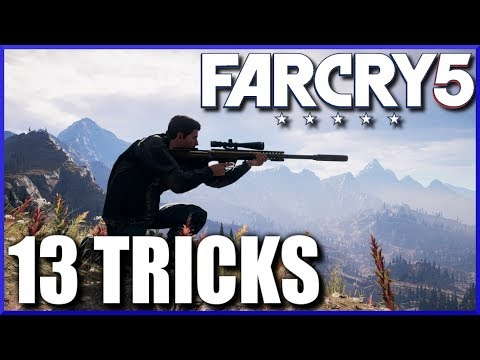TOP 13 TRICKS for Beginning FAR CRY 5 - How to Play Like a Boss