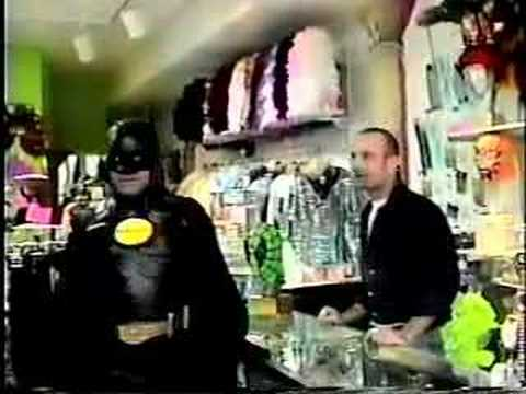 Batman Goes Shopping