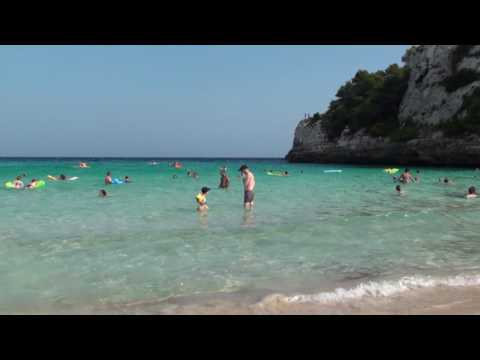 Mallorca Spain Cala Romantica HD - Mediterranean Sea, Spain (Majorca 2009)