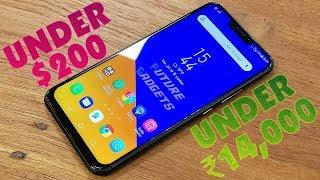 TOP 5 Budget Smartphones Under $200 ₹14,000 in 2018