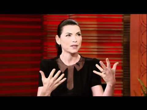 [HD] Julianna Margulies Interview On Live With Regis & Kelly 09-20-2011 (Part 1)