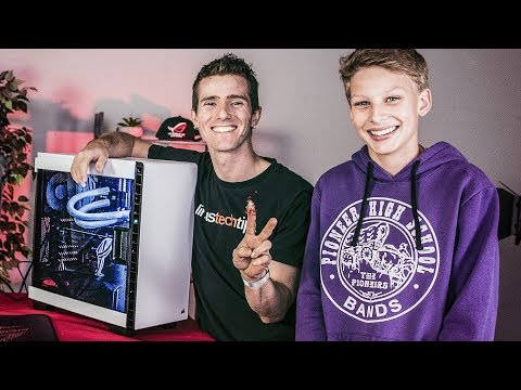 BUILDING HIS DREAM PC - ROG Rig Reboot