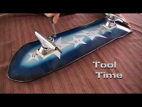 FROM BLANK TO BOWL. DIY Custom Shape, Paint Art, Handmade Skateboard. How to.