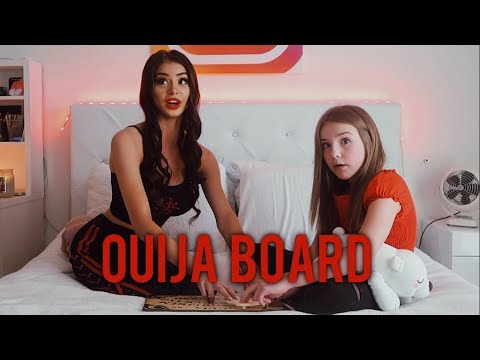 PLAYING THE OUIJA BOARD w Piper Rockelle