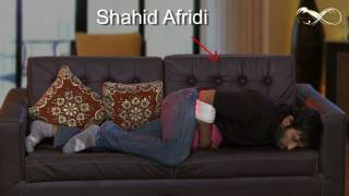 Comedy Show Jay Hind! Shahid Afridi in Touch Me Video