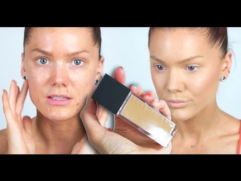 Foundation Review   Make Up Store Sculpt Excellence Foundation   Linda Hallberg Tutorial