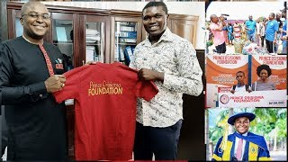 BREAKING NEWS: Great Movement as Prince Osisioma Foundation Storms Ghana