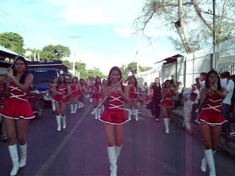 Desfile de inicio de fiestas Agosto 2009, en San Cayetano Ixtepeque.